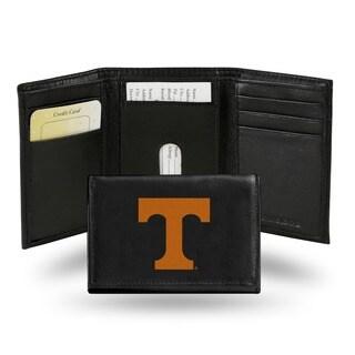 Tennessee Volunteers Men's Black Leather Tri-fold Wallet