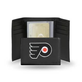 Philadelphia Flyers Men's Black Leather Tri-fold Wallet|https://ak1.ostkcdn.com/images/products/5571551/P13341117.jpg?impolicy=medium