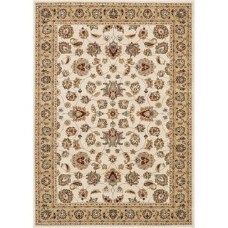 Hand-tufted Primeval Ivory Oriental Rug (3'10 x 5'7)