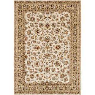Primeval Ivory/ Beige Oriental Rug (9'2 x 12'7)