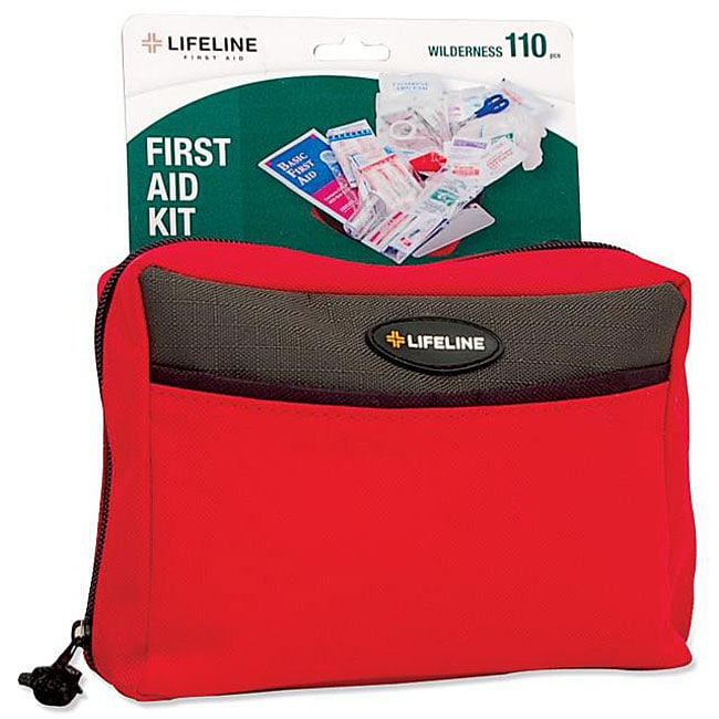 Lifeline First Aid Wilderness 110-piece First Aid Kit