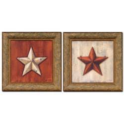 Sliney 'Small Stars' 2-piece Framed Wall Art
