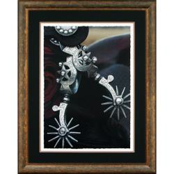 Stoecklein 'Silver Spurs' Framed Wall Art