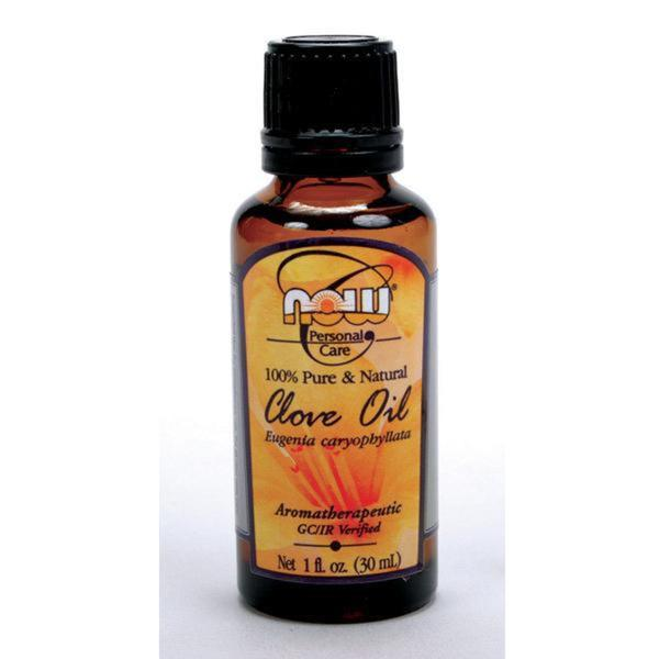 Now Foods 4-ounce Clove Oil Bottles (Pack of 3)
