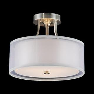 Buy Fluorescent Flush Mount Lighting Online at Overstock.com   Our ...