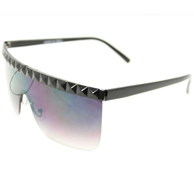 Women's F1900 Black Rimless Sunglasses