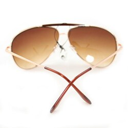 Unisex F734 Gold Aviator Sunglasses