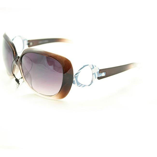 Women's P1613 Brown Fashion Sunglasses