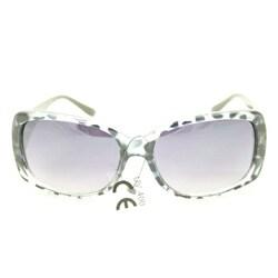 Women's P8124 Grey Leopard Fashion Sunglasses