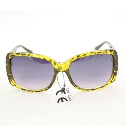 Women's P8124 Gold/Black Leopard Fashion Sunglasses