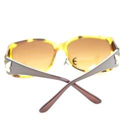Women's P8124 Brown Leopard Fashion Sunglasses - Thumbnail 2