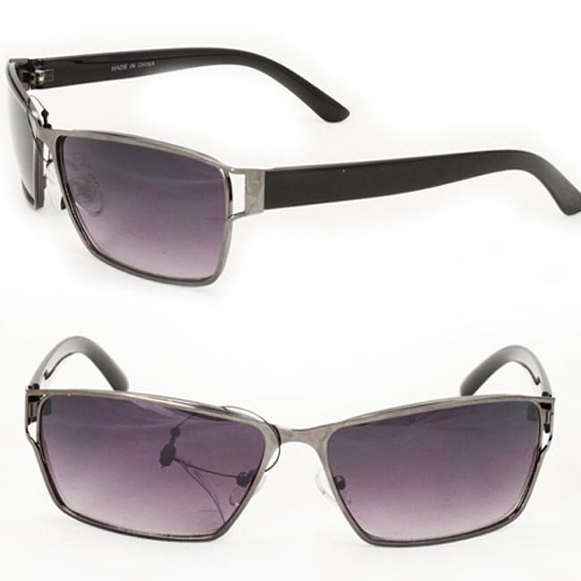 Men's F758 Grey Square Sunglasses