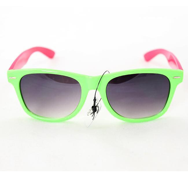 Women's 200 Green/Pink Sunglasses