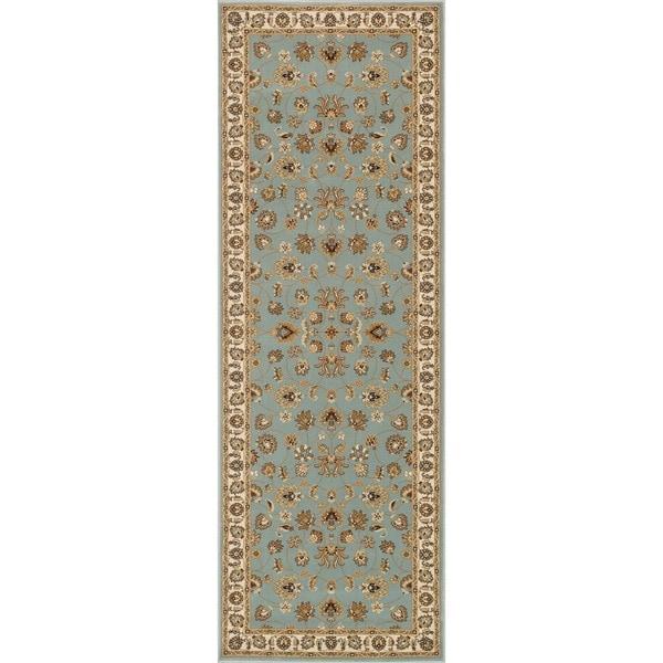 Primeval Blue Oriental Rug (2'8 x 7'7)