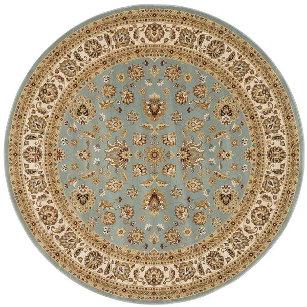 Primeval Blue Oriental Rug (7'7 Round)