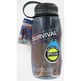 BPA-free 26-oz Survival in a Bottle