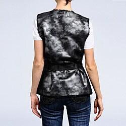Via Spiga Women's Faux Shearling Reversible Vest