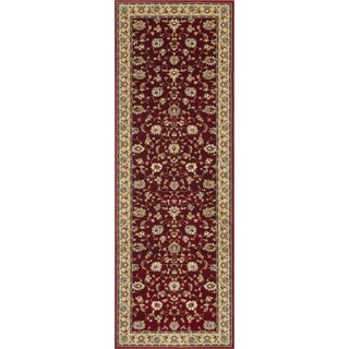 Primeval Red Oriental Rug (2'8 x 7'7)