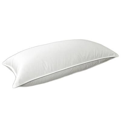 Overfilled White 450 Thread Count Supreme Natural Down Pillow