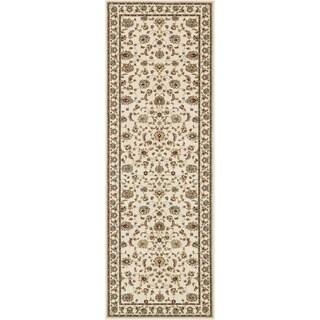 Primeval Ivory Oriental Rug (2'8 x 7'7)