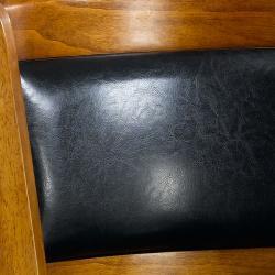 Alexis Dark Oak Padded Back 29-inch Barstool - Thumbnail 2