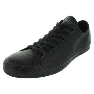 Converse Unisex Chuck Taylor All Star Black Leather Ox Athletic-inspired Shoes