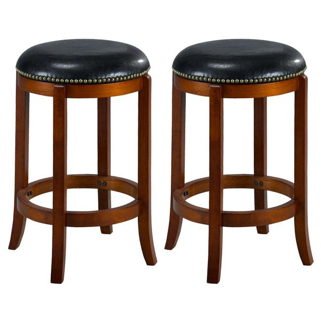 Jackson Bicast Leather Cherry Counter Stools Set of 2  : Jackson Bicast Leather Cherry Counter Stools Set of 2 L13344980 from www.overstock.com size 650 x 650 jpeg 35kB