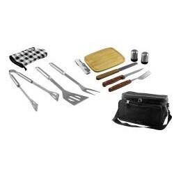 Finelife 12 Piece BBQ Kit And Cooler Bag - Thumbnail 1