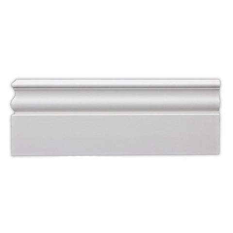 Heritage 6-inch Baseboard (Pack of 8)