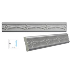 Diamond-patterned 1.75-inch Case Molding (8 pack)