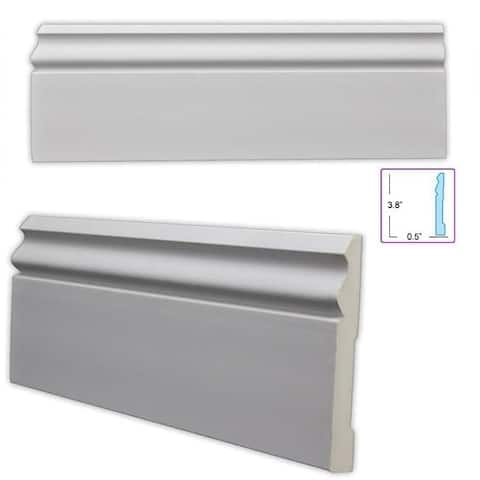 Classic 3.75-inch Baseboard (8 pieces)