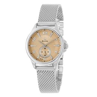 Bulova 'Adventurer' Women's Mesh Bracelet Watch