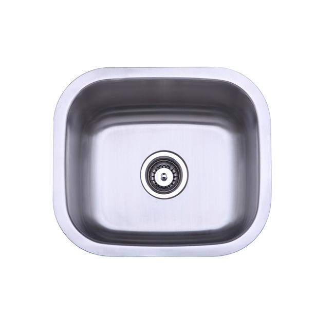 Shop Stainless Steel 16 Inch Undermount Bar Sink Free Shipping