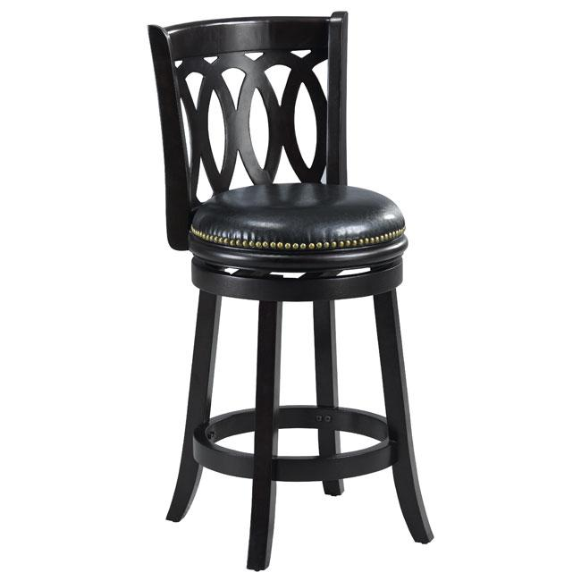 Cameron Cappuccino Spiral Back Swivel Counter Stool