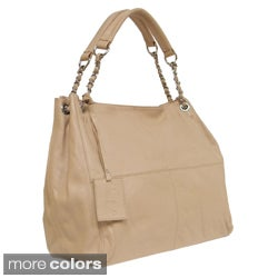 Donna Bella Designs 'Slick' Medium Leather Tote Bag