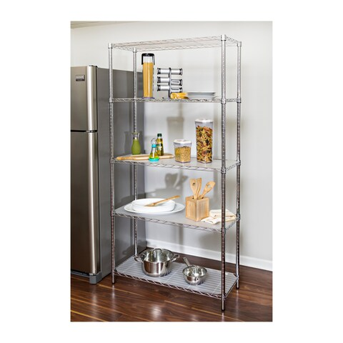 Honey-Can-Do Steel Storage Shelving