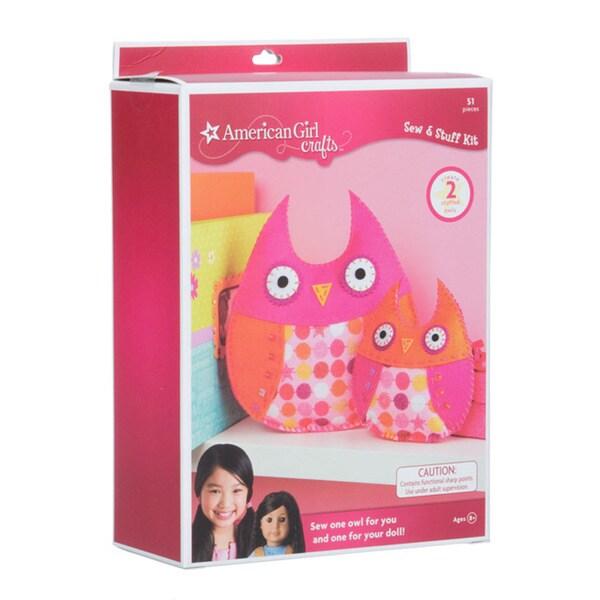 Shop american girl crafts owls sew stuff kit free for American girl craft kit