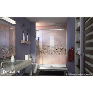 DreamLine Visions 56-60x72-inch Frameless Sliding Shower Door