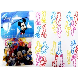Character Bandz 'Disney: Mickey' Characters Shaped Silicone Kids Bracelets (2 packs).