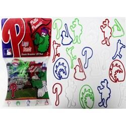 Logo Bandz 'Phillies' Characters Shaped Silicone Kids Bracelets (2 packs).