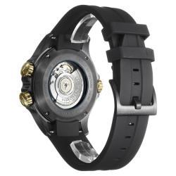 Hamilton Men's 'Khaki Navy' Black PVD Steel, Rubber Automatic Watch