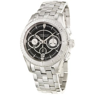 Hamilton Men's 'Seaview' Stainless Steel Automatic Watch