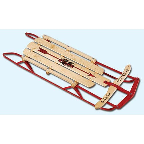 Paricon Flexible Flyer Steel Runner 54-inch Sled