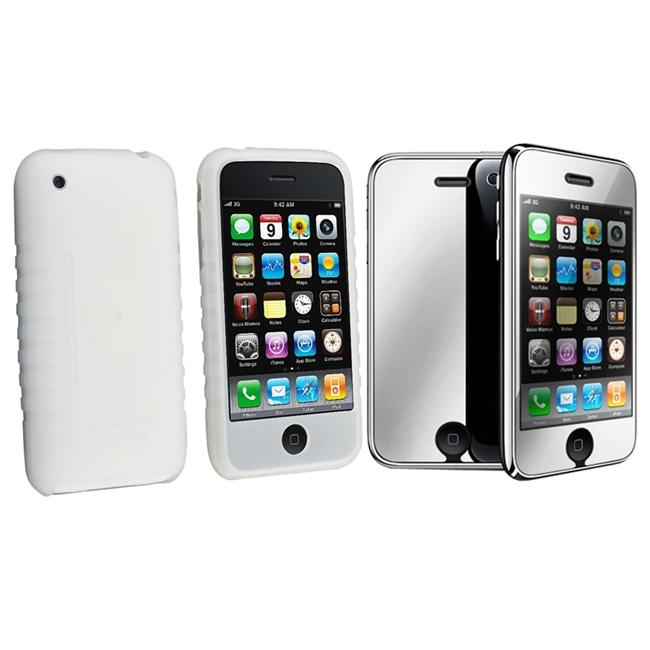 Silicone Case/ Mirror SP for Apple iPhone 3G/ 3GS
