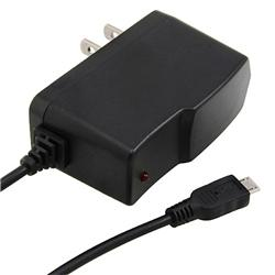 BasAcc Black Micro USB Travel Charger for BlackBerry 9300 Curve 3G - Thumbnail 2