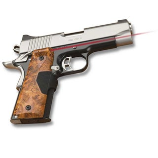 Crimson Trace 1911 Government/ Commando Pro Custom Burl Wood Laser Grip
