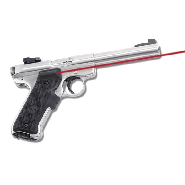 Crimson Trace Ruger MKII, MKIII, MK Polymer Overmold Laser Grip