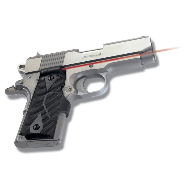 Crimson Trace 1911 Officer/ Defender Compact Overmold Wrap Laser Grip