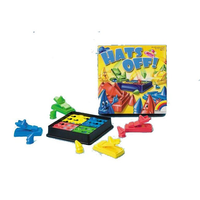 Intex Games Hats Off Novelty Family Board Game for Ages Four and Up