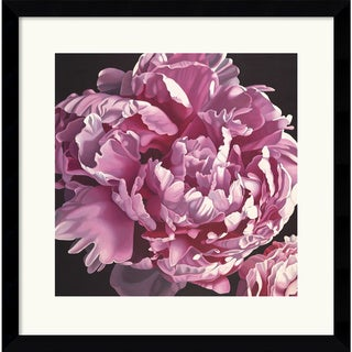 Elizabeth Hellman 'Peony I' Framed Art Print